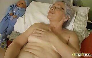 OmaPasS Big Natural Breast Played by Lesbians