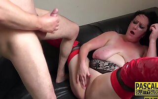 Pascal White in Chubby Submissive Throats Plus Gets Fucked