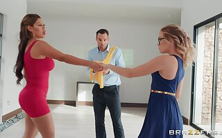 Guy cheats on his daughter with zesty dance instructor Bridgette B.