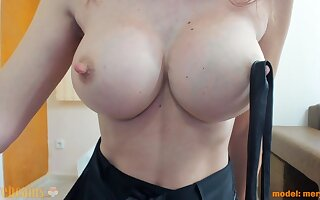 I try big sensitive nipples. Do you absence to bite them?