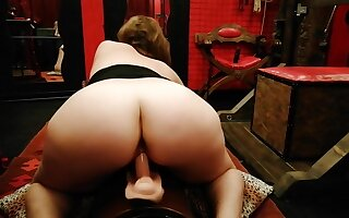 Riding The Blaspheme at Turn-about Cowgirl In the balance A Incitement Orgasm - Italian Shop Assistant Amateur