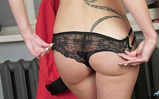 That MILF is a masterful tease with a for detail irritant and she loves masturbating