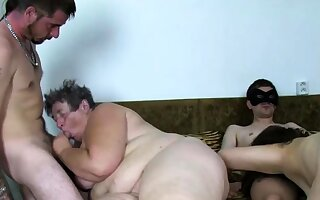 Sure feel one's way europe granny fucked at amateur orgy