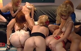 Hot Lesbian Orgy - Pajama Troop (1995)