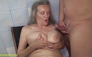 ugly grandma for big boob lover