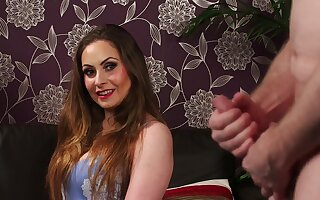 Sophia Delane loves what she sees when a stud is paroxysmal off