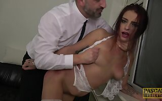 Deep maledom grants submissive teen the right orgasms