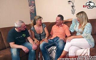 German mature housewife swinger orgy