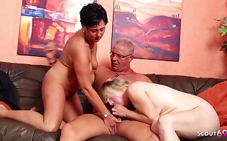 German Mature Wife Talk Nasty Mademoiselle To Ffm 3some With Husband