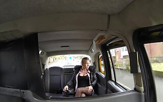 Slutty young miss Licky gives it up to her horny cabbie