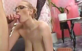 Hot Slovakian busty blonde