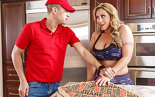 Eva Notty Xander Corvus in ZZ Pizza Party: Part 1 - BrazzersNetwork