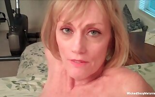 Frying spoil named Wicked Sexy Melanie loves filming her wild sexual adventures