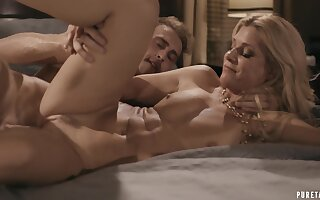 Man fucks MILF's unexplored pussy and there yon serious XXX