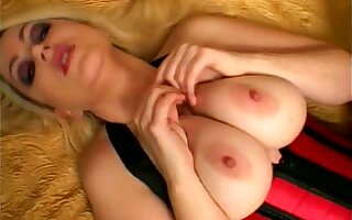 Busty peaches uninhibited whore respecting corset is horny about riding strong cock
