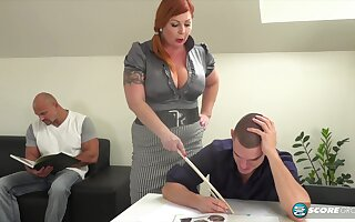 Tammy is a voluptuous, red haired woman who is always in the mood be proper of a mmf threesome