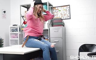 Amazing fucking in the thriftiness sell out with cock hungry Adira Allure